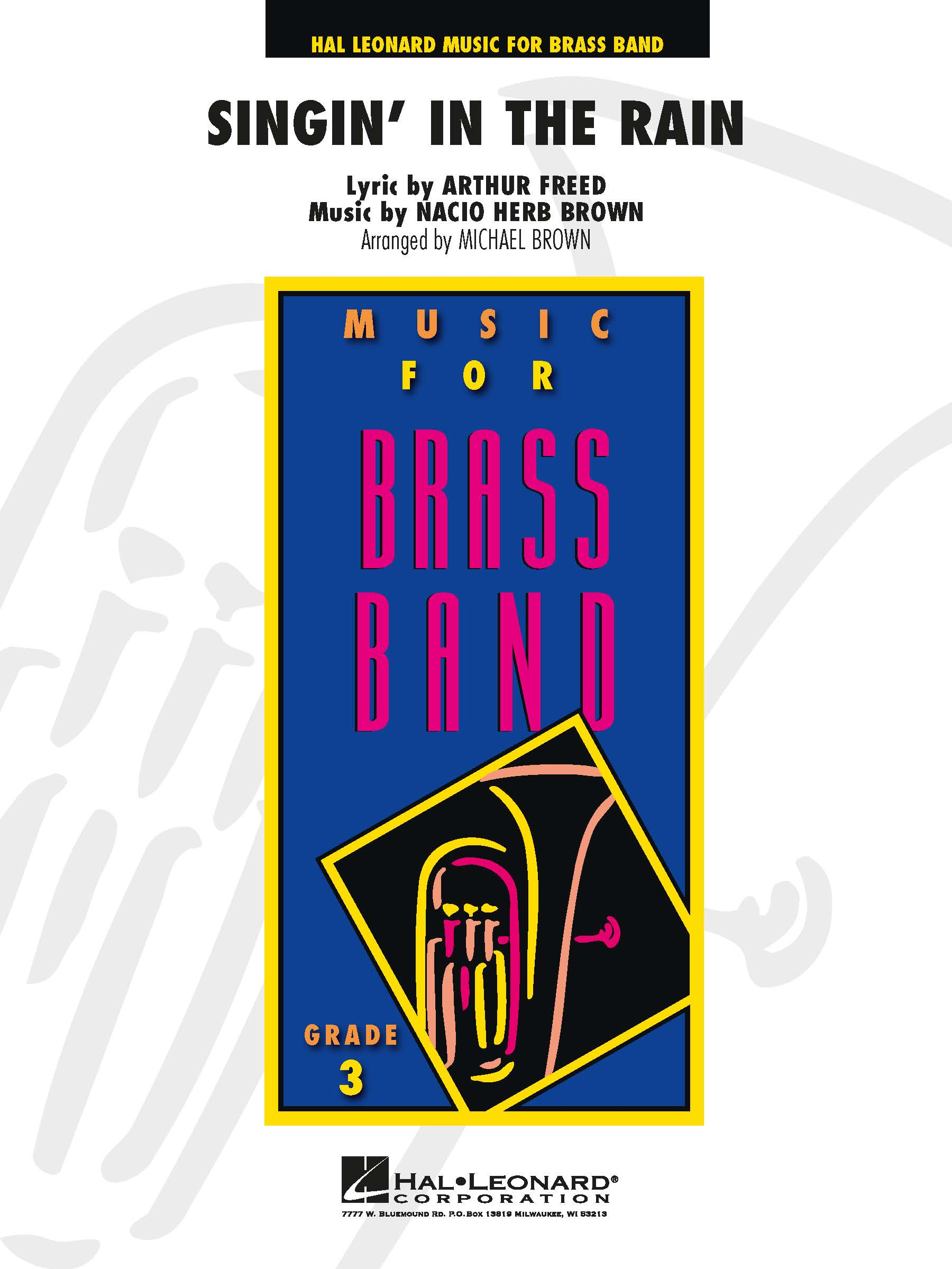 Singin' in the Rain: Brass Band: Score and Parts