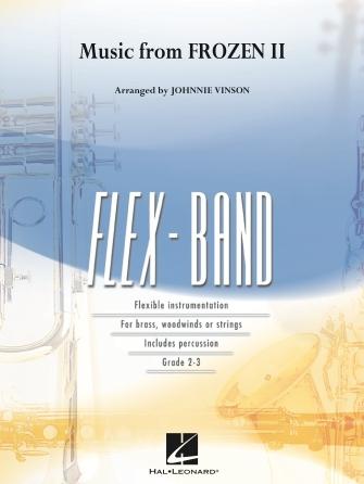 Robert Lopez Kristen Anderson-Lopez: Music from Frozen 2: Flexible Band: Score