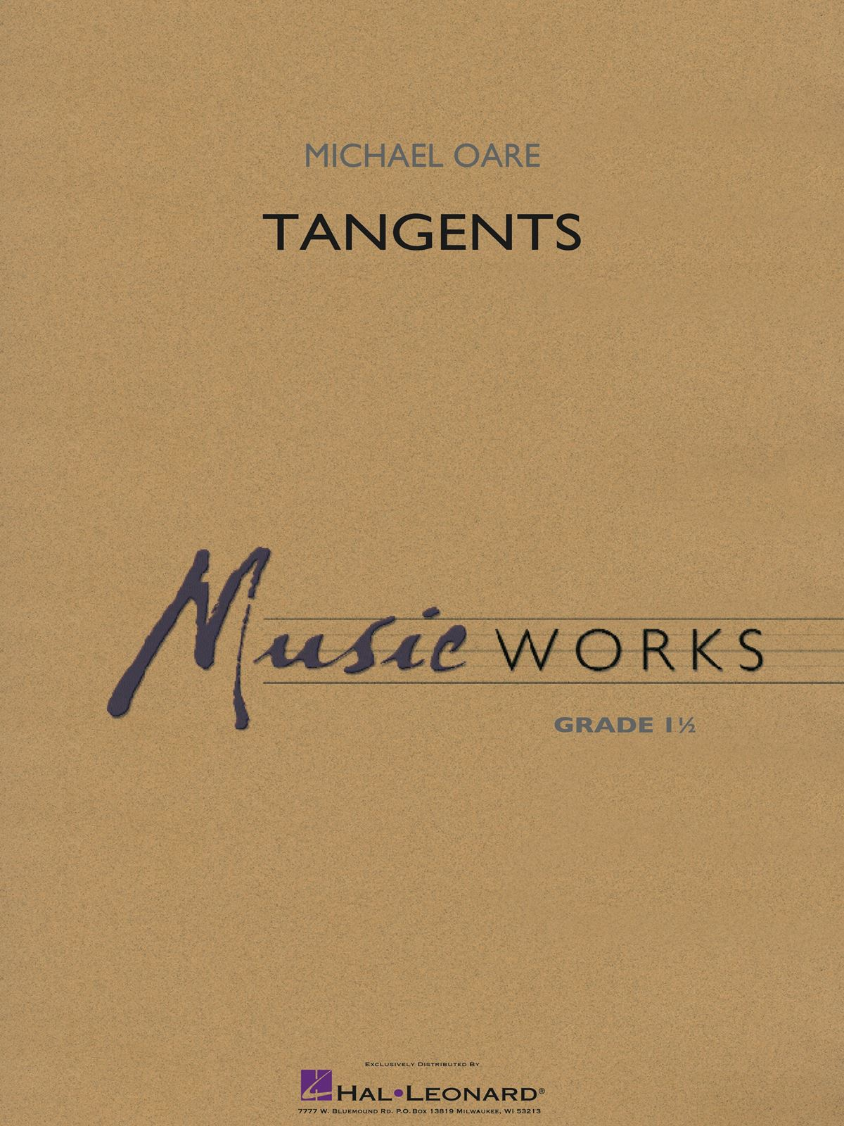 Michael Oare: Tangents: Concert Band: Score and Parts