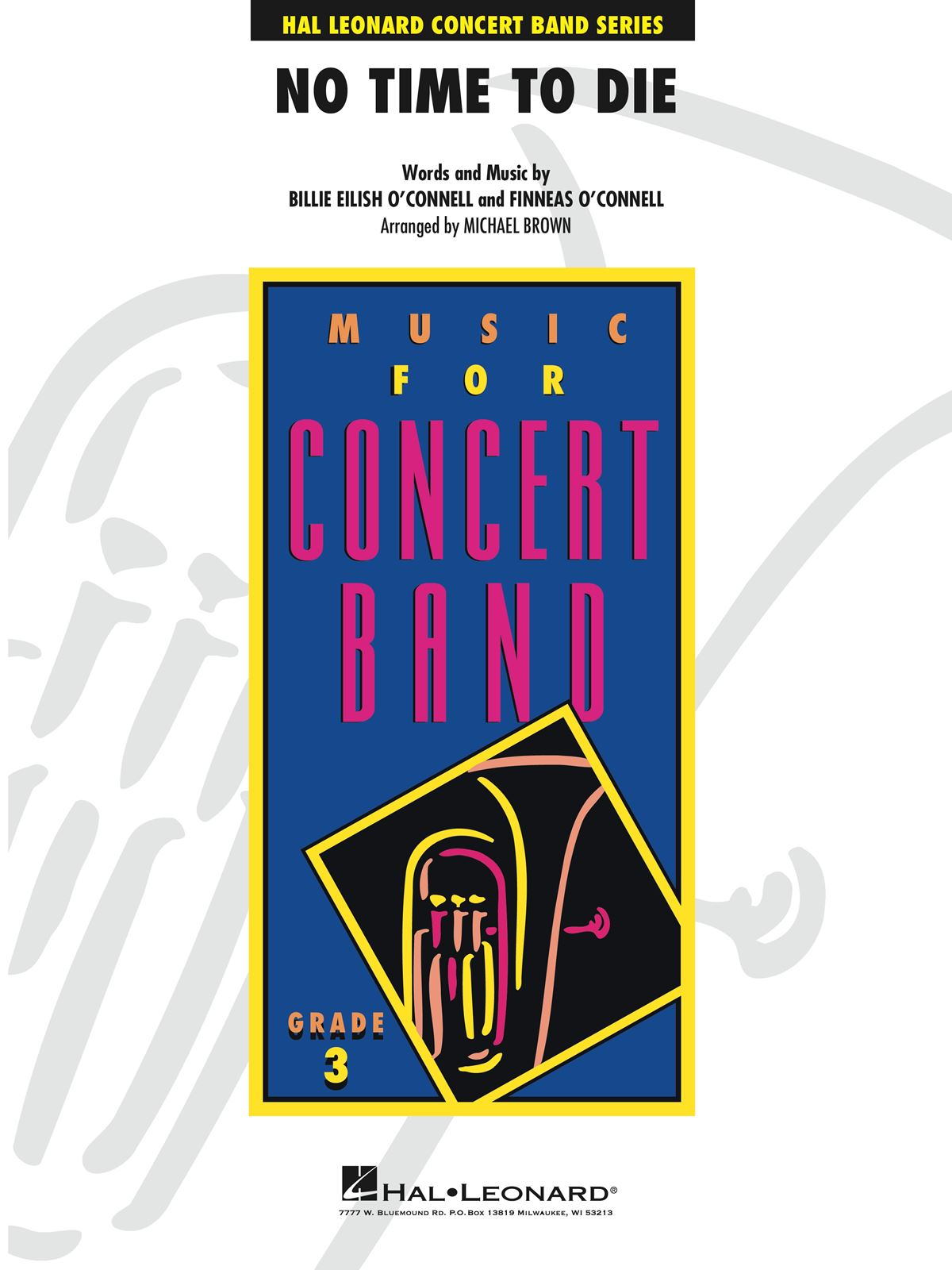 Billie Eilish: No Time to Die (from No Time To Die): Concert Band: Score and Parts