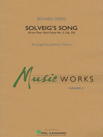 Edvard Grieg: Solveig's Song (from Peer Gynt Suite No. 2): Concert Band: Score