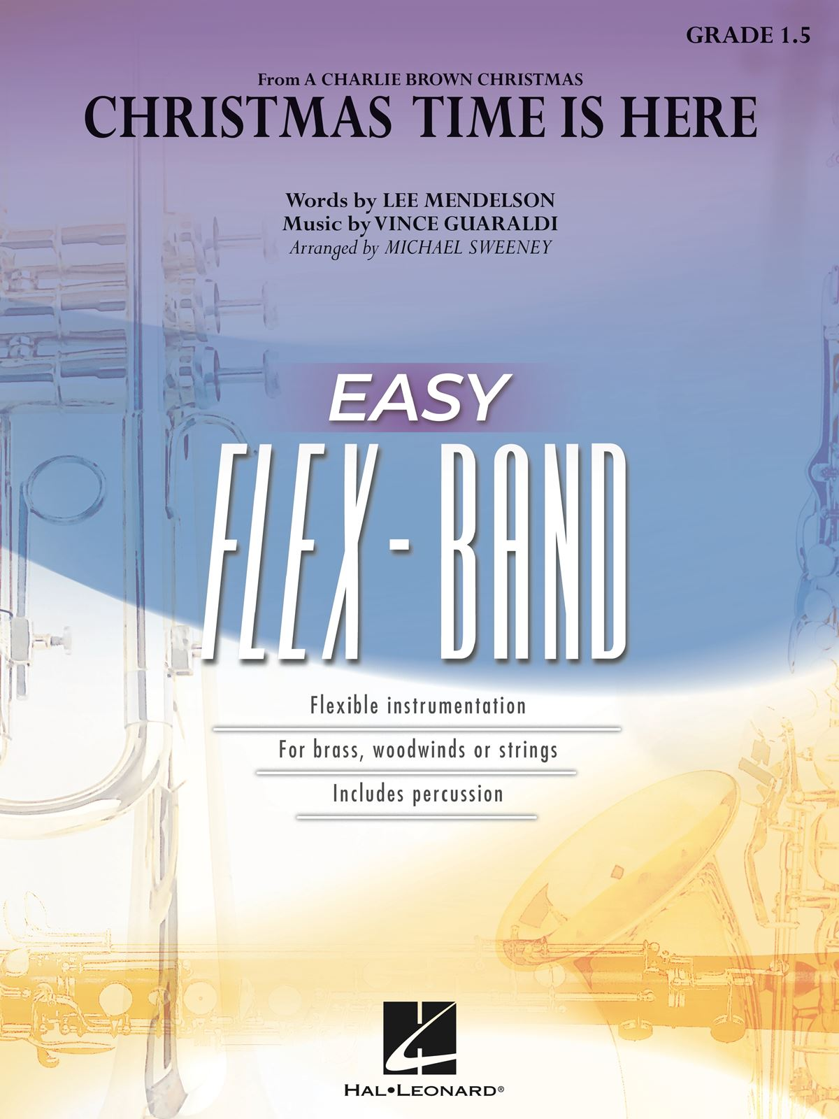 Vince Guaraldi Lee Mendelson: Christmas Time Is Here: Flexible Band: Score &