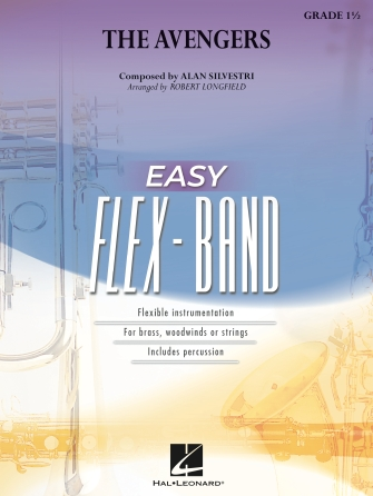 Alan Silvestri: The Avengers: Flexible Band: Score