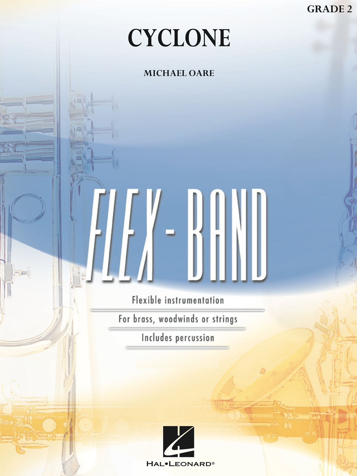 Michael Oare: Cyclone: Flexible Band: Score and Parts