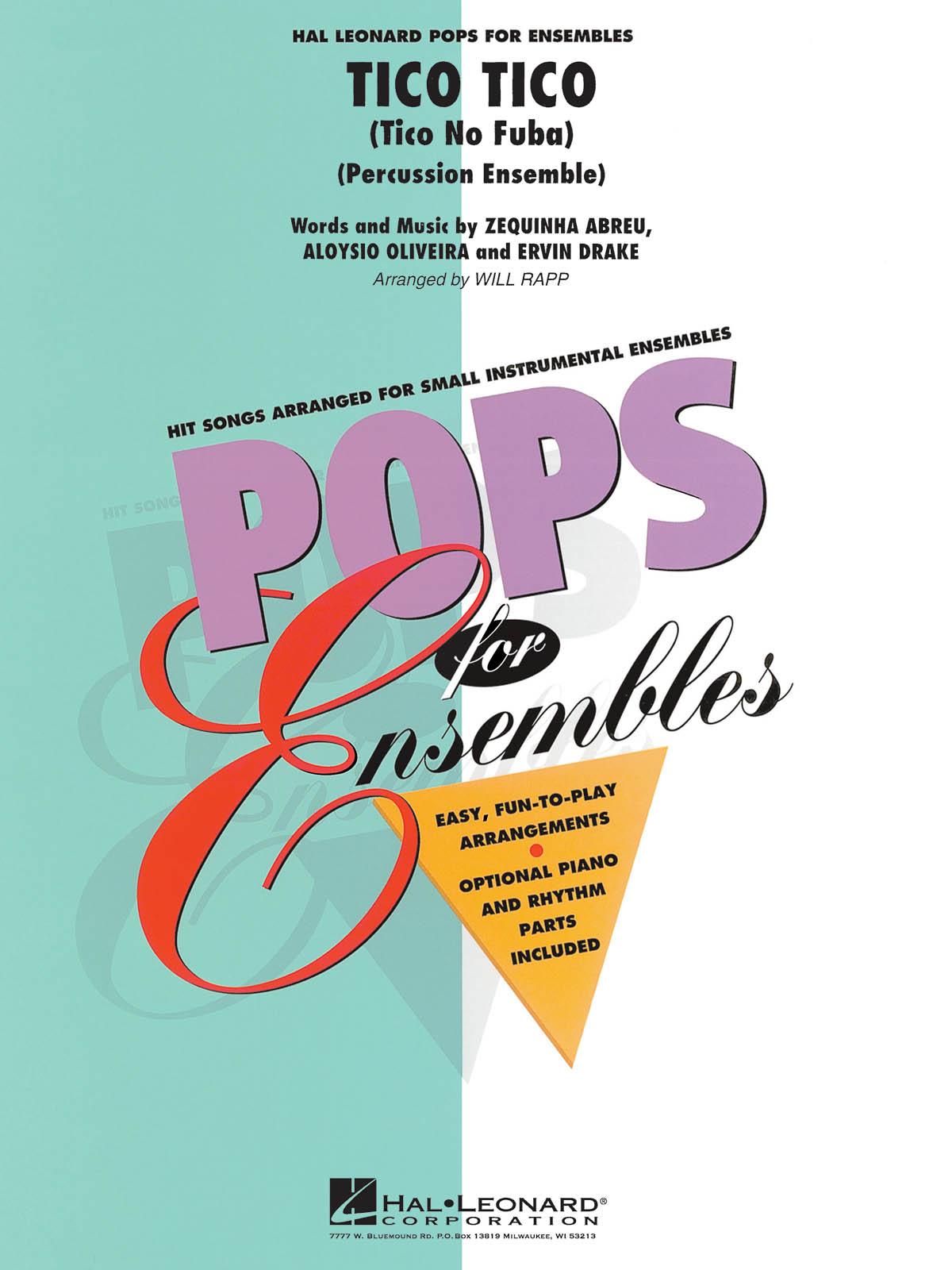 Tico Tico: Percussion Ensemble: Score & Parts