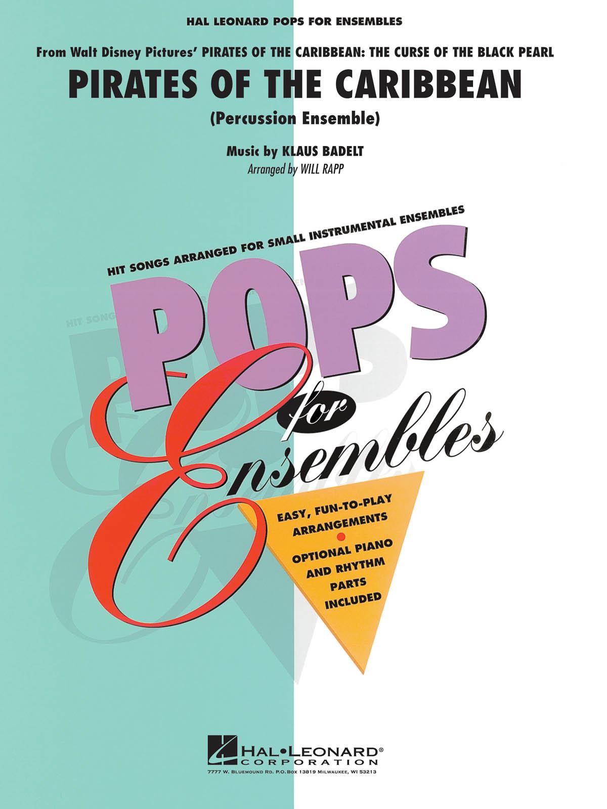 Klaus Badelt: Pirates Of The Caribbean: Percussion Ensemble: Score & Parts