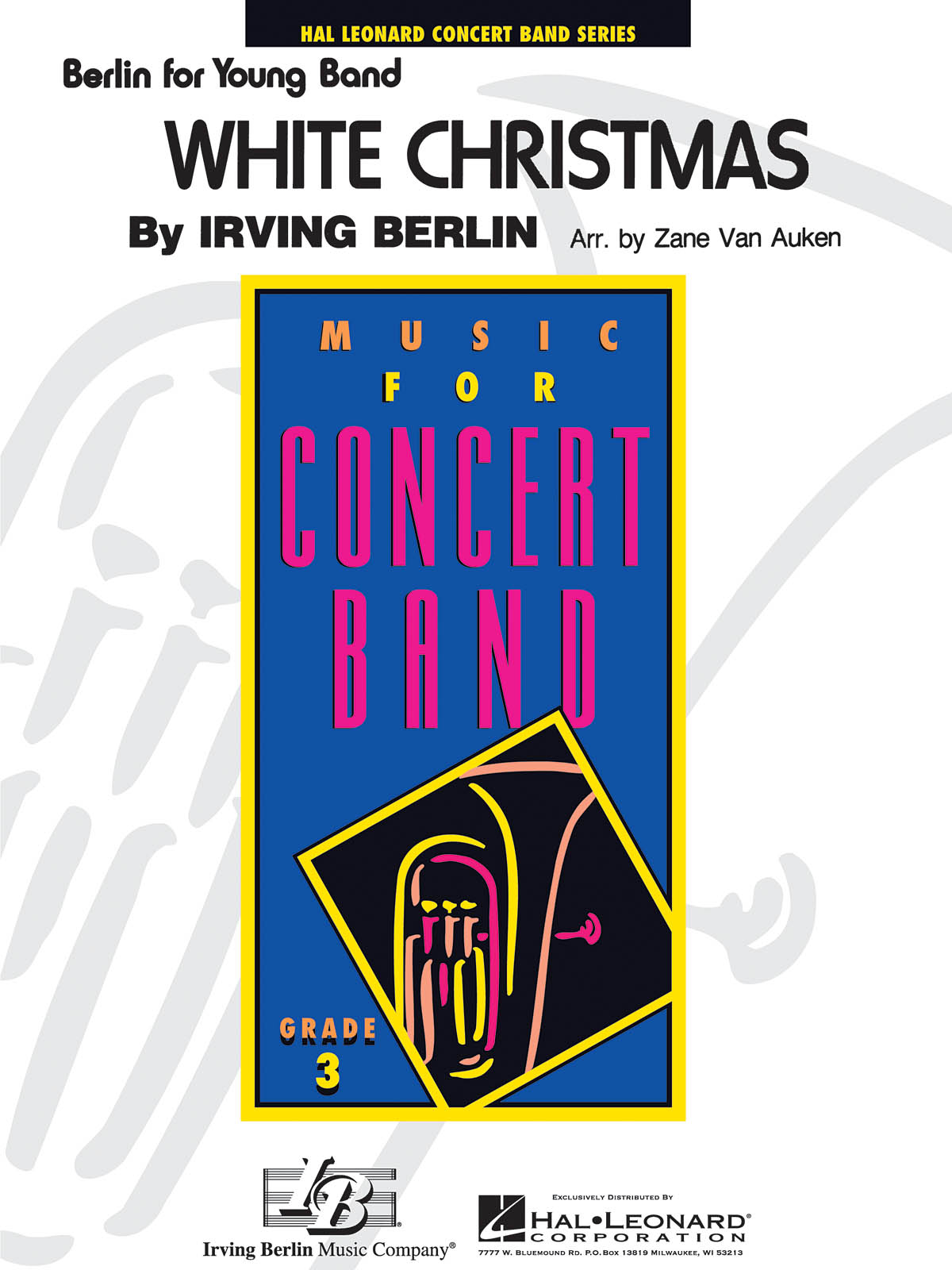 Irving Berlin: White Christmas: Concert Band: Score & Parts