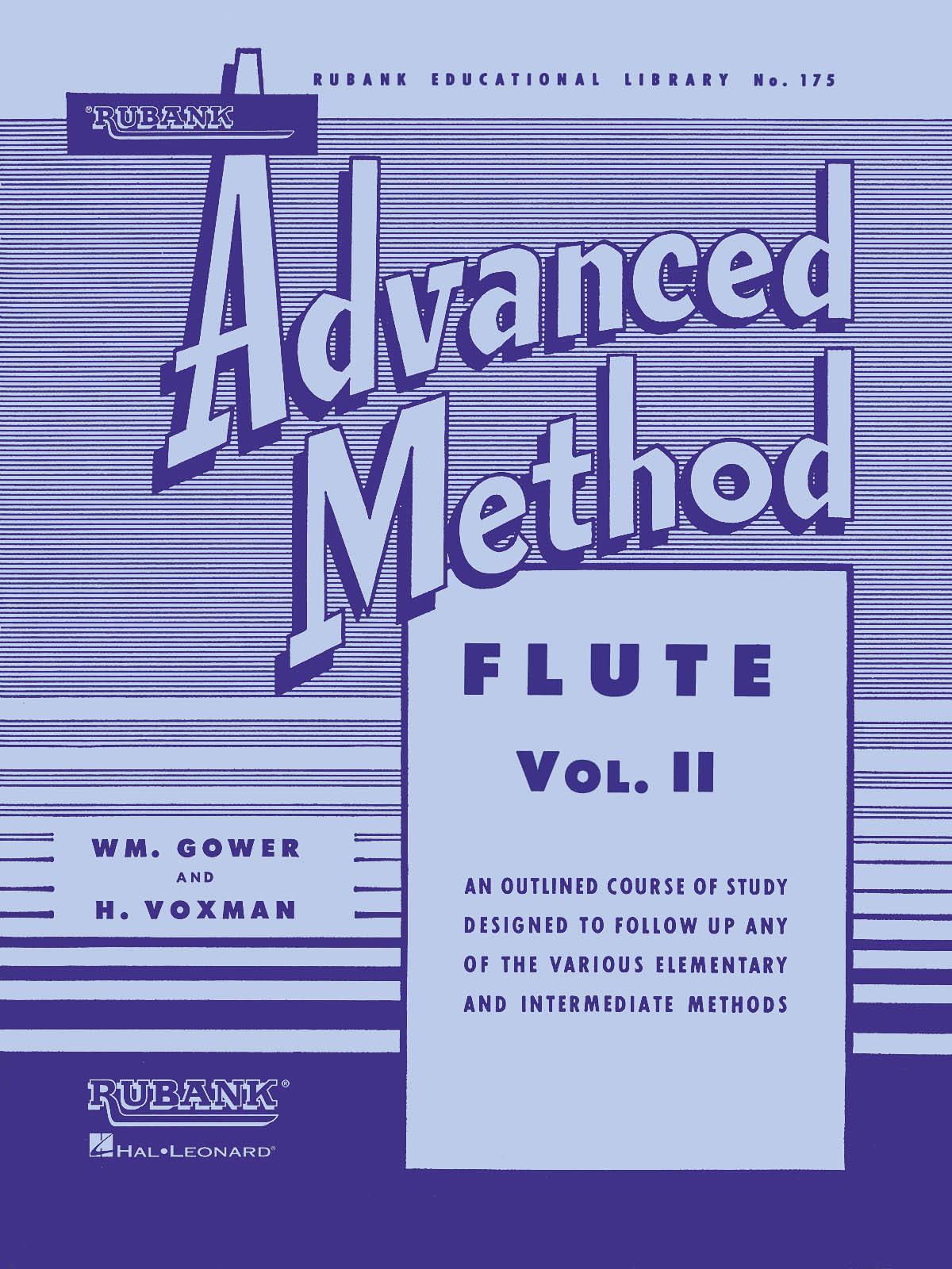 Rubank Advanced Method Vol. II: Flute Solo: Instrumental Tutor
