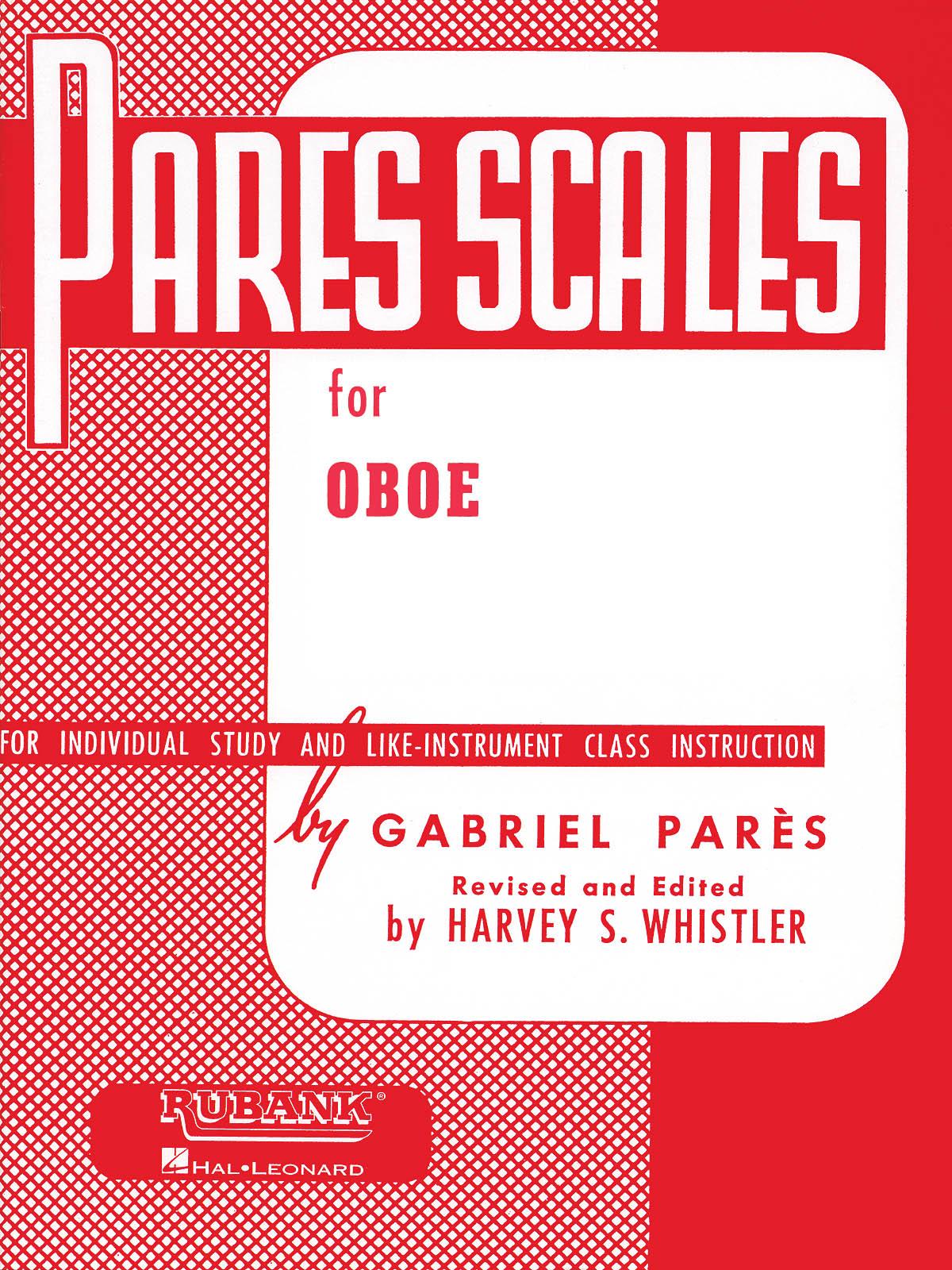 Gabriel Parès: Pares Scales: Oboe Solo: Instrumental Tutor
