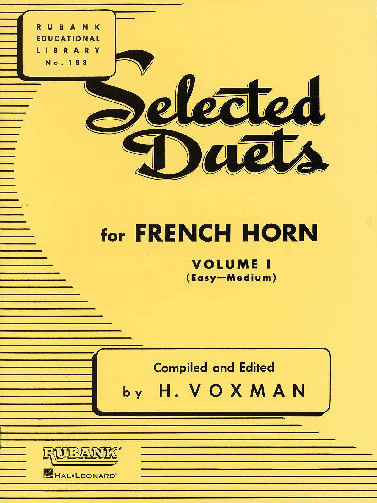Selected Duets for French Horn: French Horn Solo: Instrumental Album