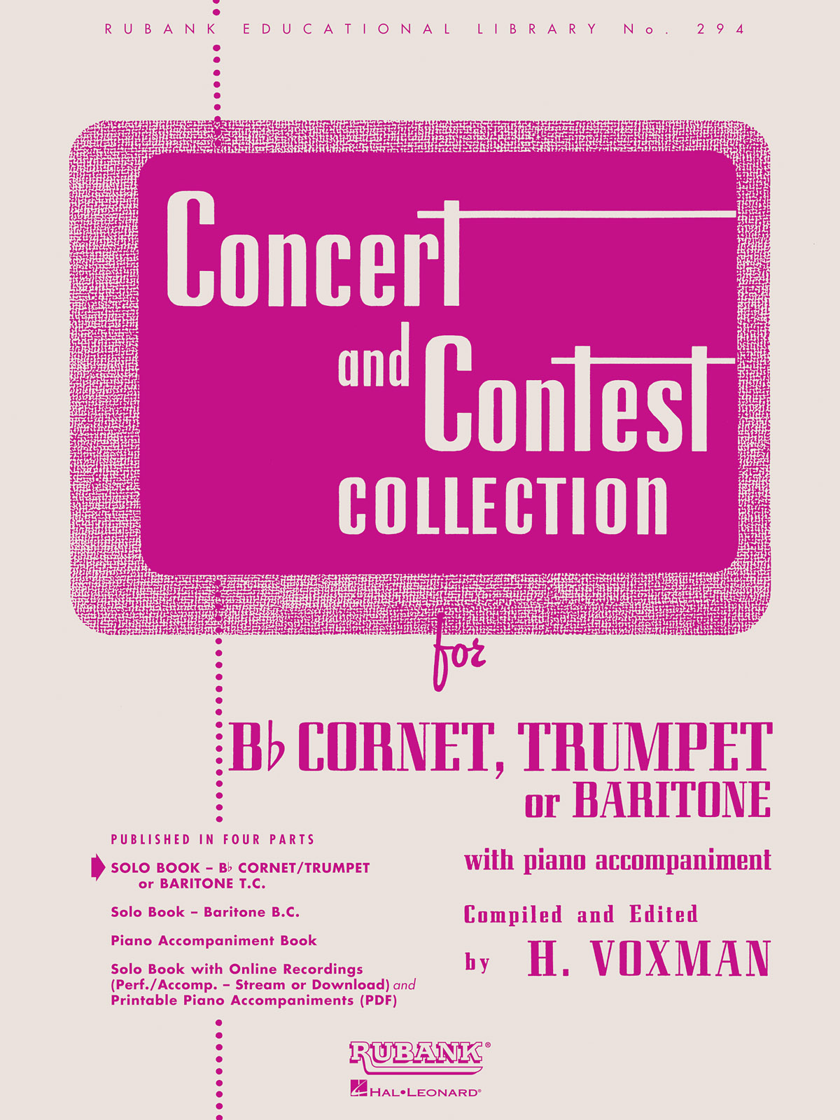 Concert And Contest Collection: Trumpet Solo: Instrumental Album