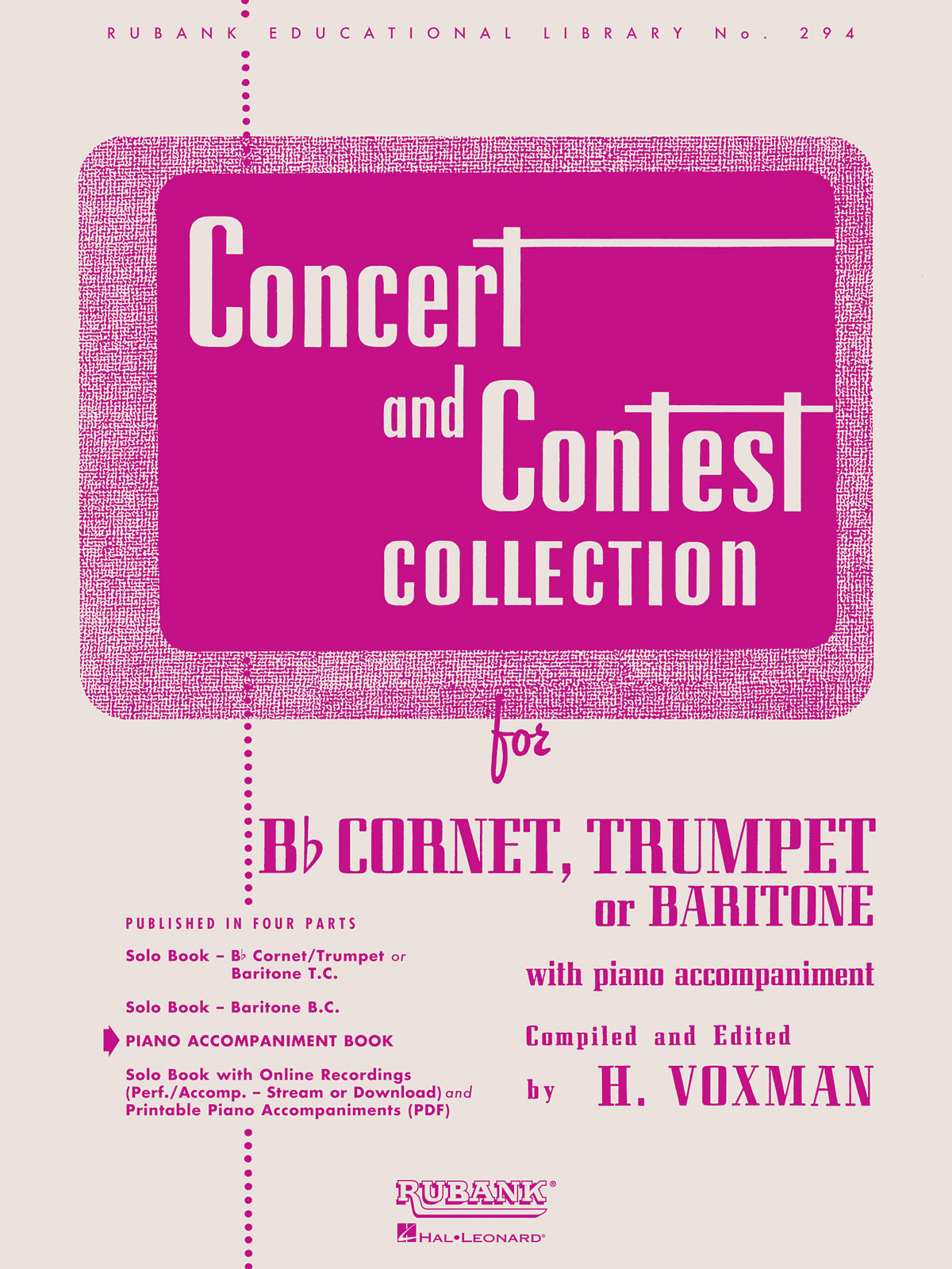 Concert And Contest Collection - Trumpet (PA): Trumpet and Accomp.: Instrumental
