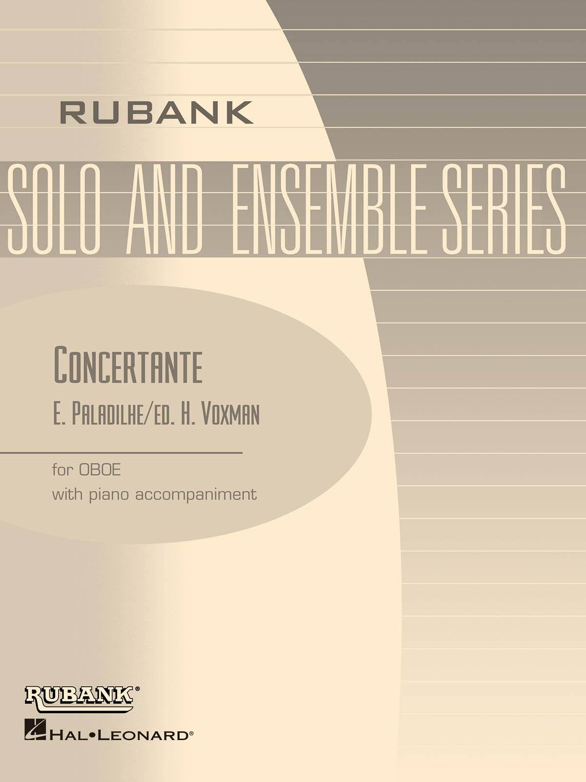 Emile Paladilhe: Concertante: Oboe and Accomp.: Instrumental Album