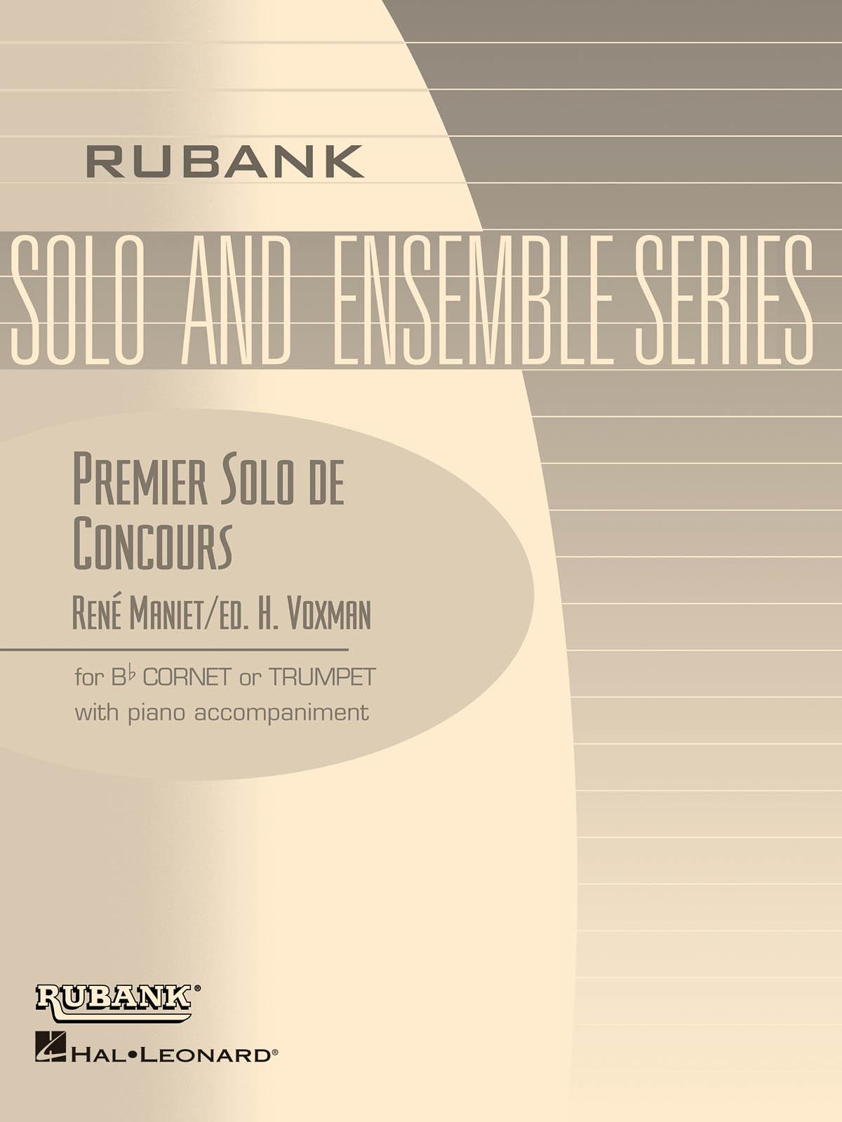 René Maniet: Premier Solo de Concourse: Trumpet and Accomp.: Instrumental Album