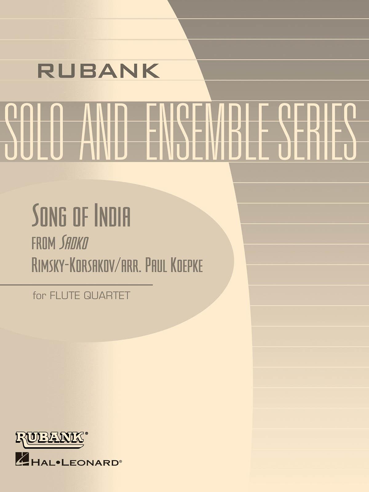 Nikolai Rimsky-Korsakov: Song of India: Chamber Ensemble: Part