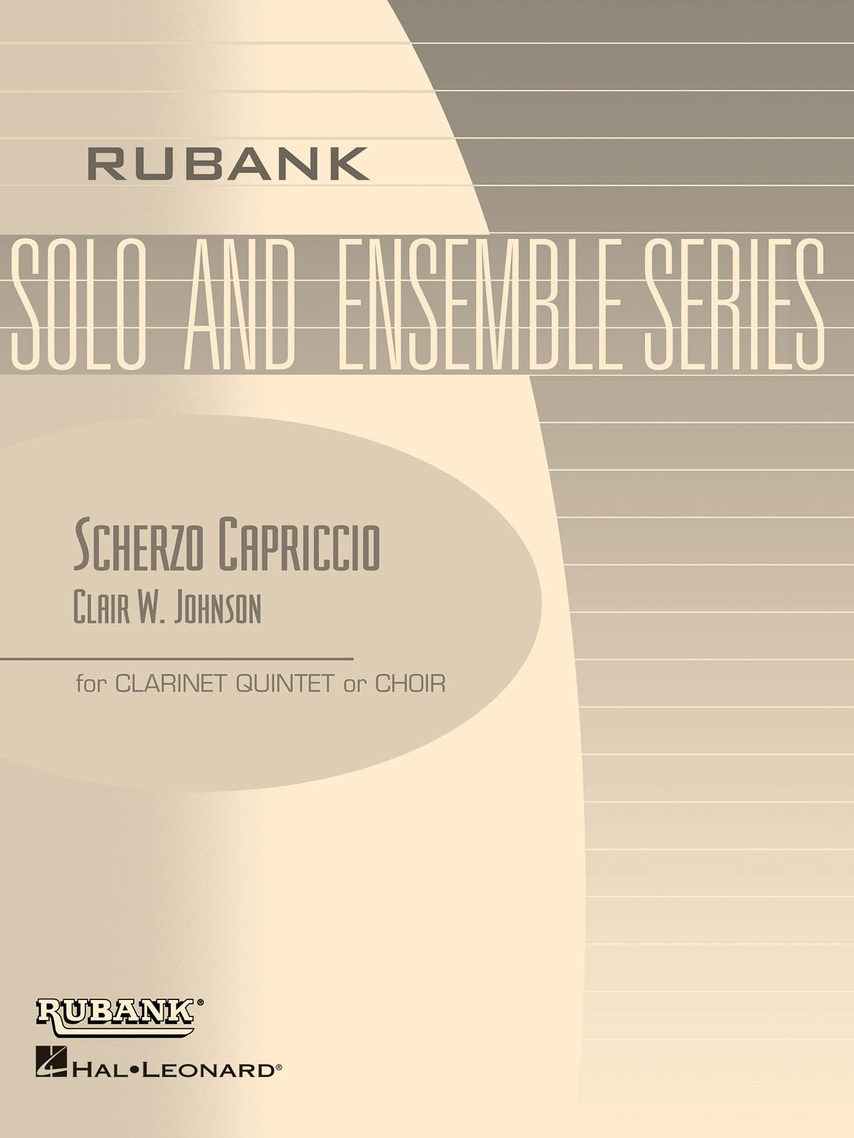 Clair W. Johnson: Scherzo Capriccio: Clarinet Ensemble: Score & Parts
