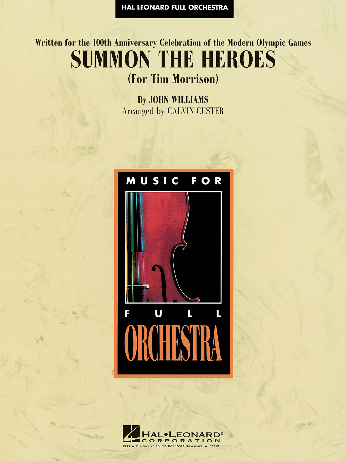 John Williams: Summon the Heroes: Orchestra: Score