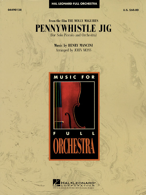 Henry Mancini: Pennywhistle Jig (for Piccolo Solo and Orchestra): Orchestra:
