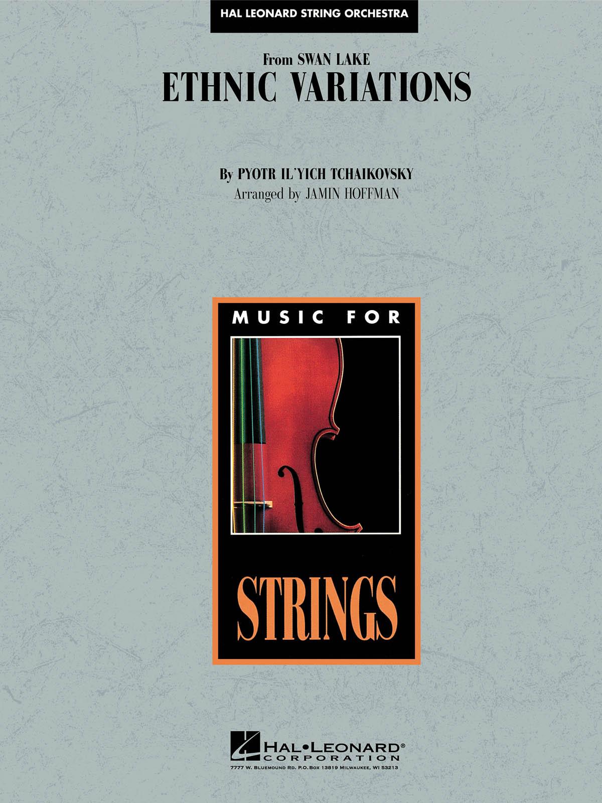 Pyotr Ilyich Tchaikovsky: Ethnic Variations: String Orchestra: Score
