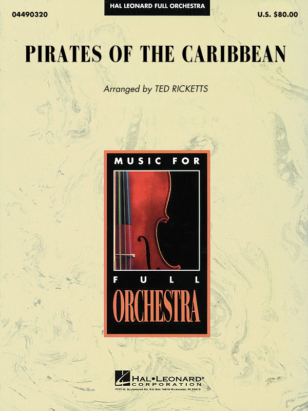 Klaus Badelt: Pirates of the Caribbean: Orchestra: Score