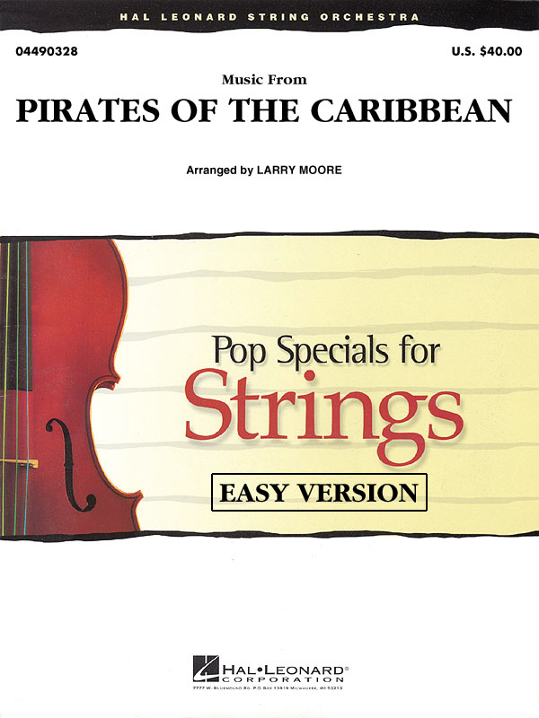 Klaus Badelt: Music From Pirates Of The Caribbean: String Orchestra: Score