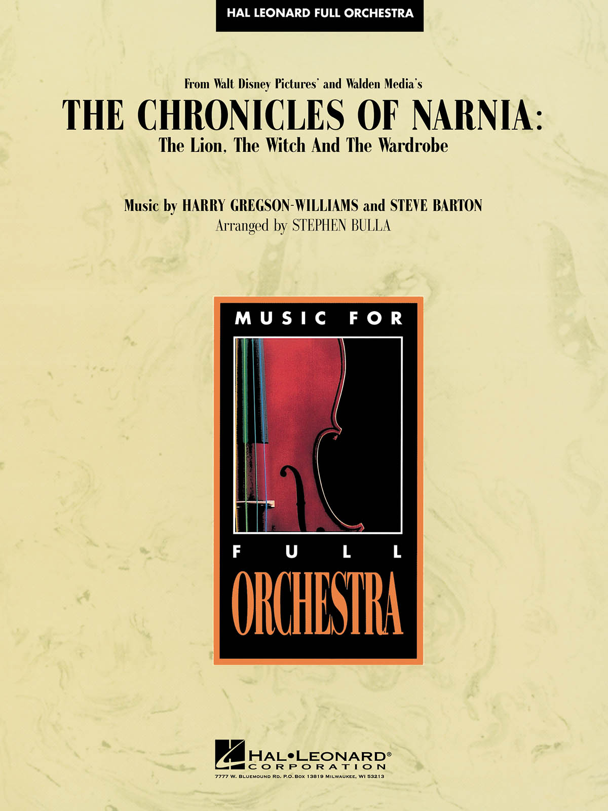 Harry Gregson-Williams: Music from the Chronicles of Narnia:: Orchestra: Score &