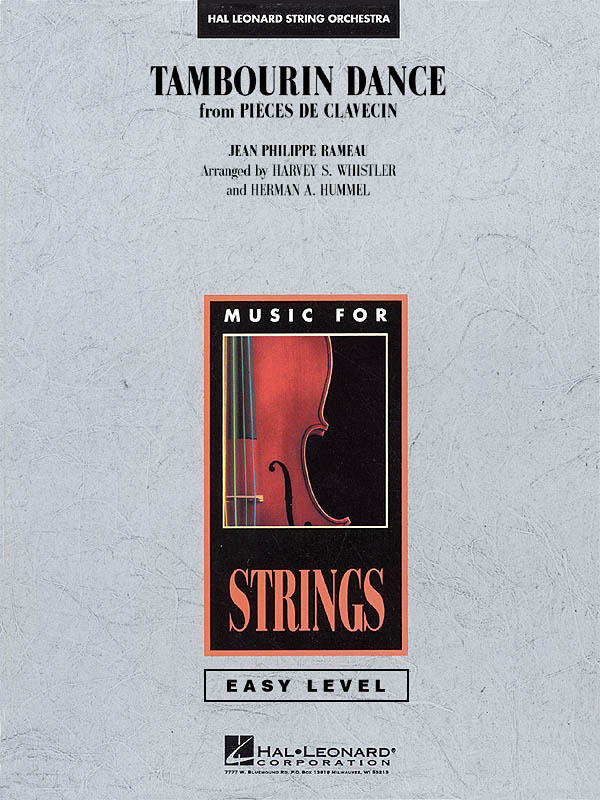 Jean-Philippe Rameau: Tambourin Dance (from Pièces de clavecin): String