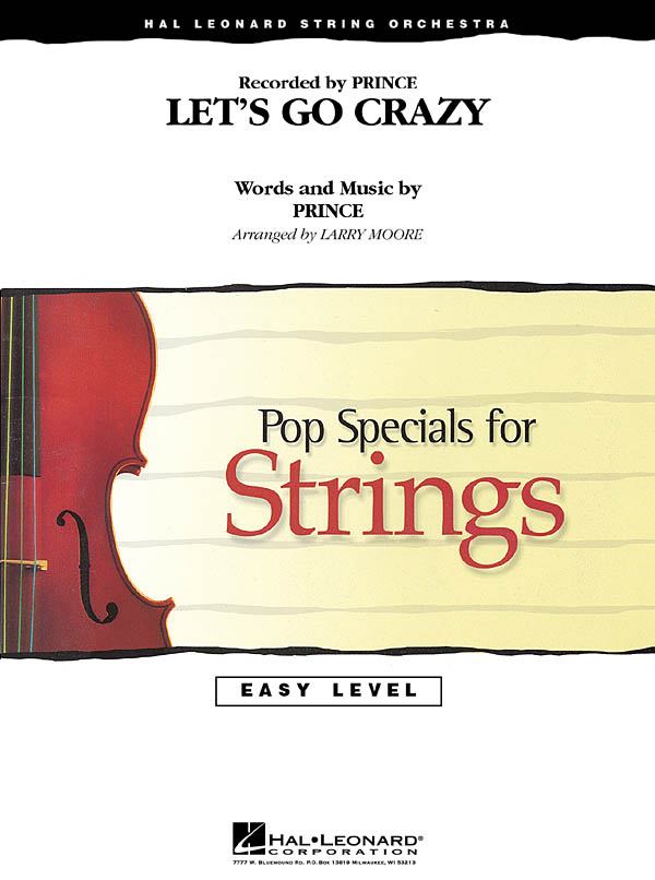 Prince: Let's Go Crazy: String Orchestra: Score and Parts