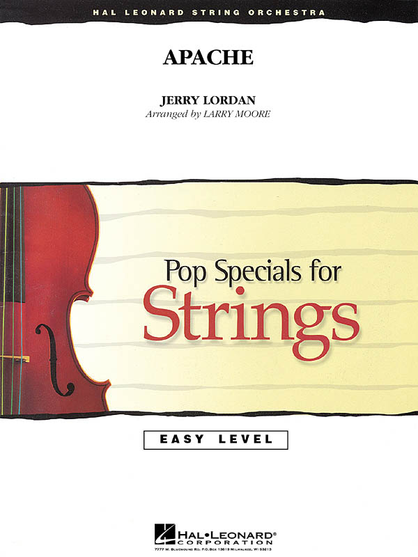 Jerry Lordan: Apache: String Orchestra: Score & Parts