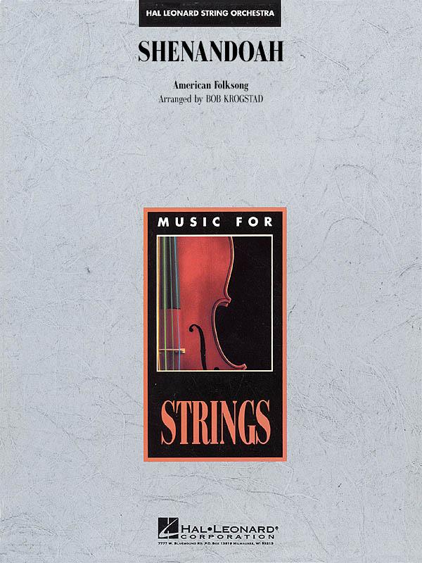 Shenandoah: String Orchestra: Score & Parts