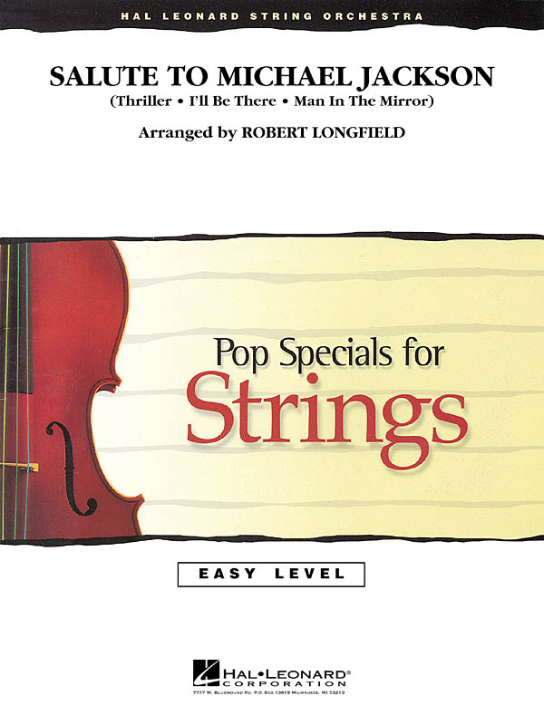 Salute to Michael Jackson: String Orchestra: Score & Parts