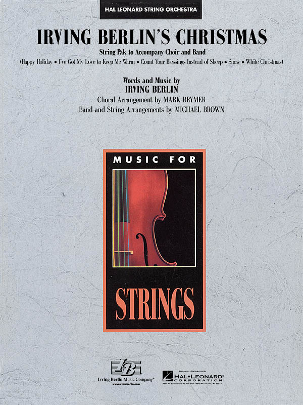 Irving Berlin's Christmas: String Orchestra: Score & Parts