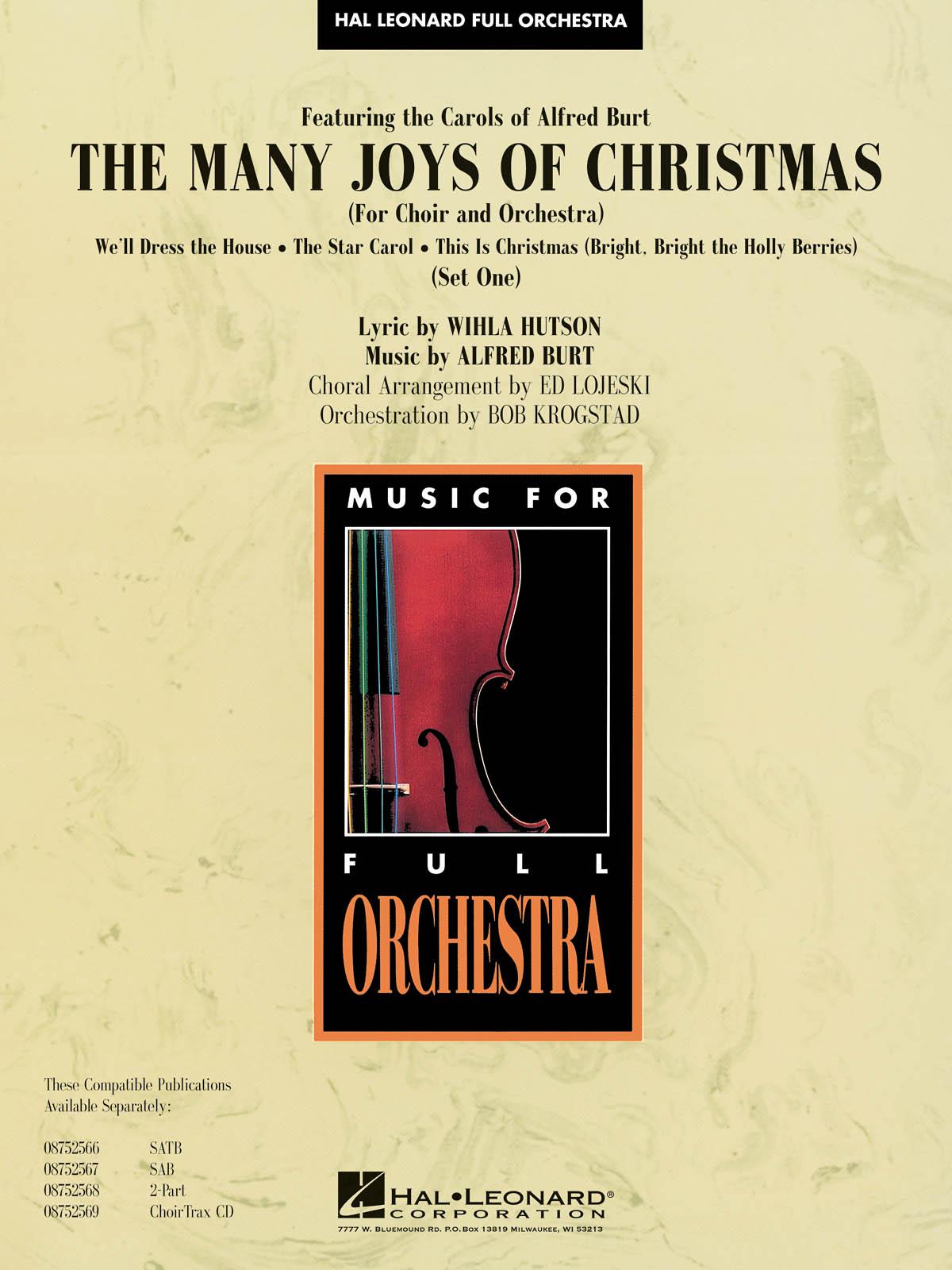The Many Joys of Christmas (Set One): Orchestra: Score & Parts