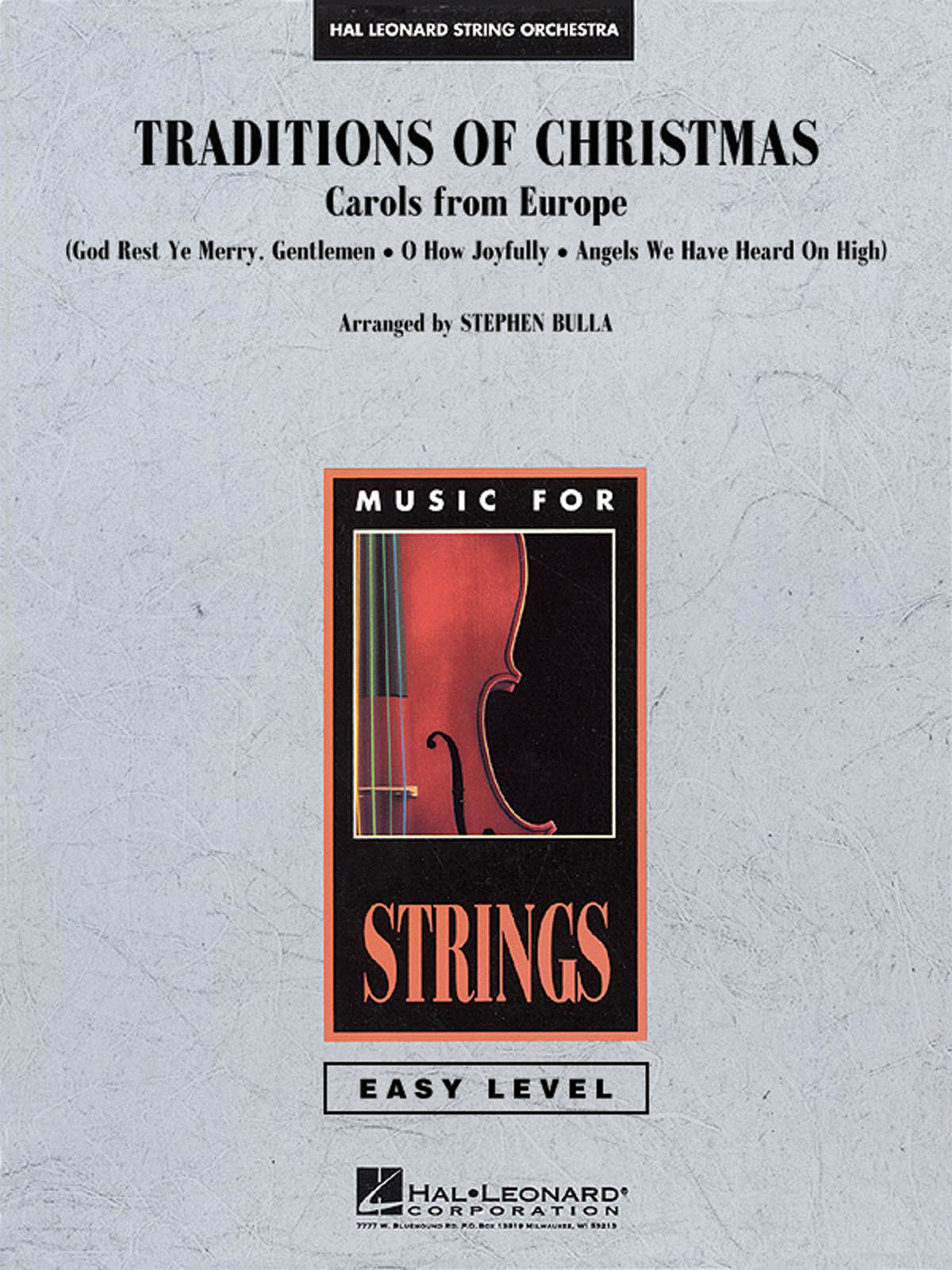 Traditions of Christmas (Carols from Europe): String Orchestra: Score & Parts