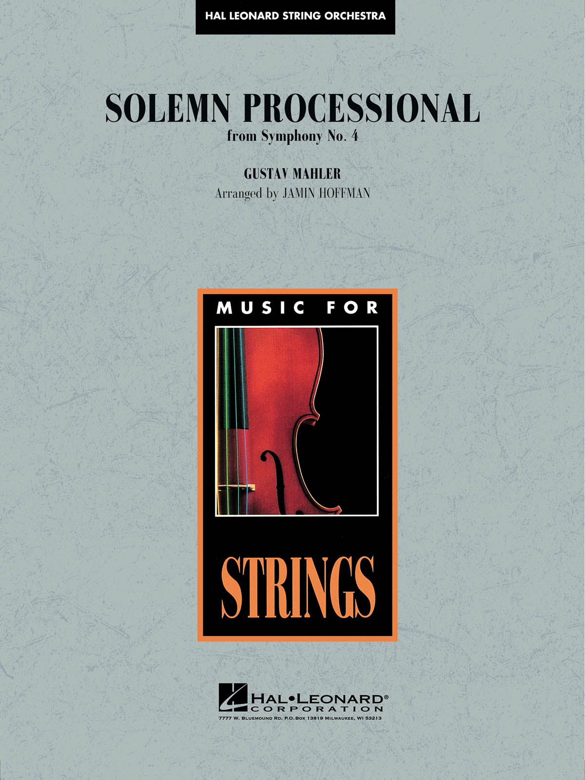 Gustav Mahler: Solemn Processional (from Symphony No. 4): String Orchestra: