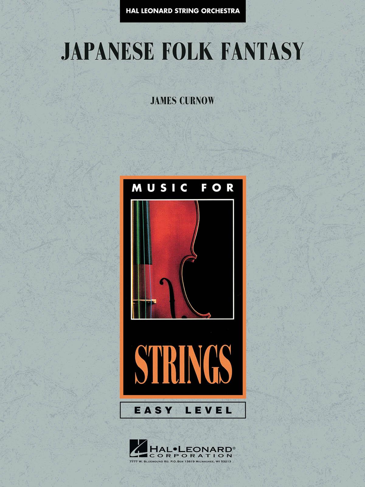 James Curnow: Japanese Folk Fantasy: String Orchestra: Score & Parts