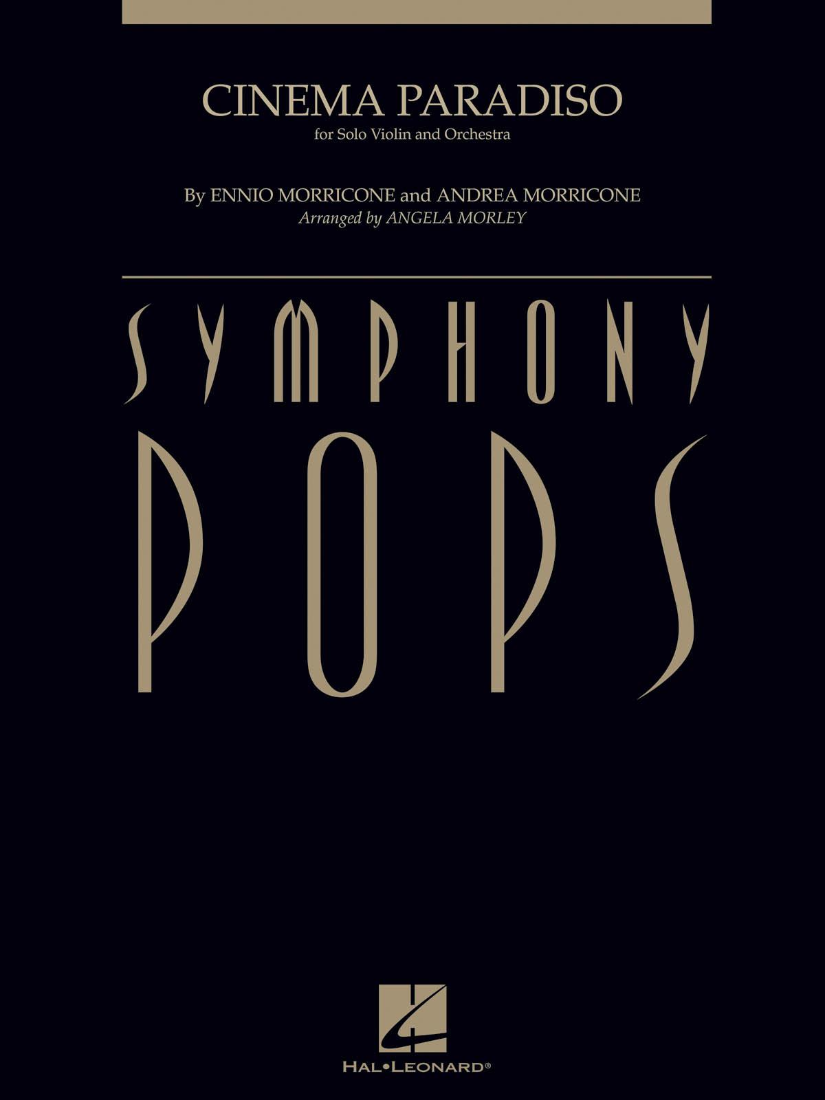 Ennio Morricone Andrea Morricone: Cinema Paradiso: Orchestra and Solo: Score &