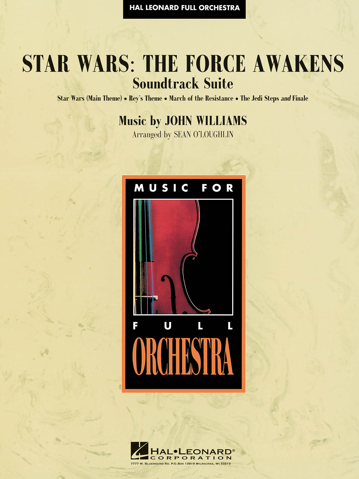 John Williams: Star Wars: The Force Awakens - Soundtrack Suite: Orchestra: Score