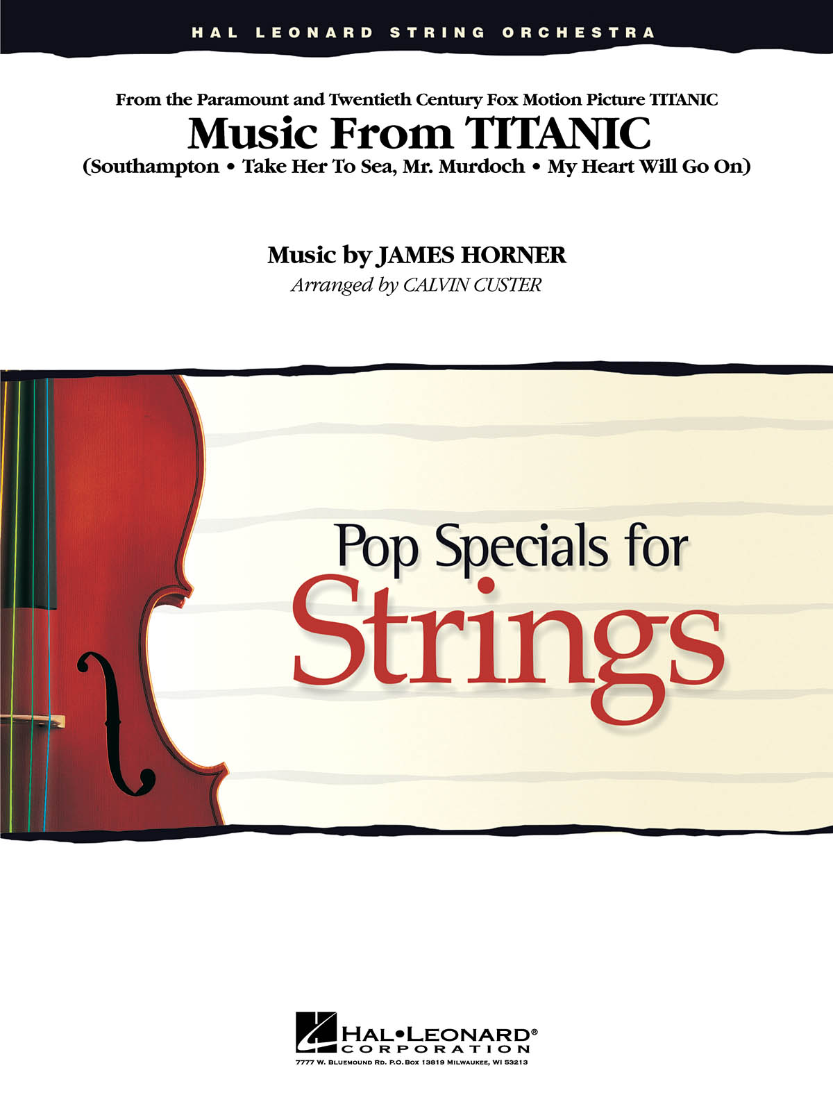Music From Titanic: String Orchestra: Instrumental Work