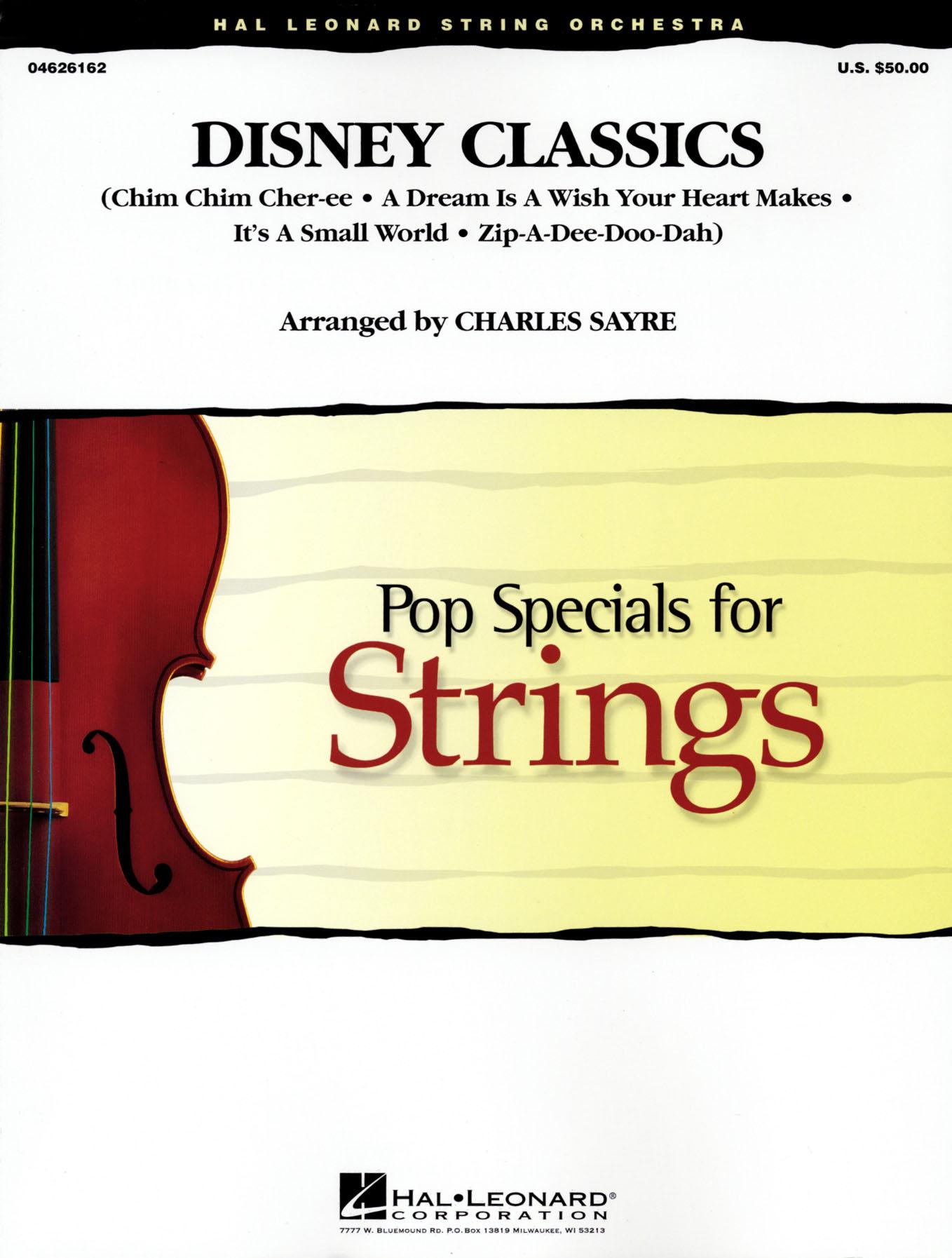 Disney Classics: String Ensemble: Score & Parts
