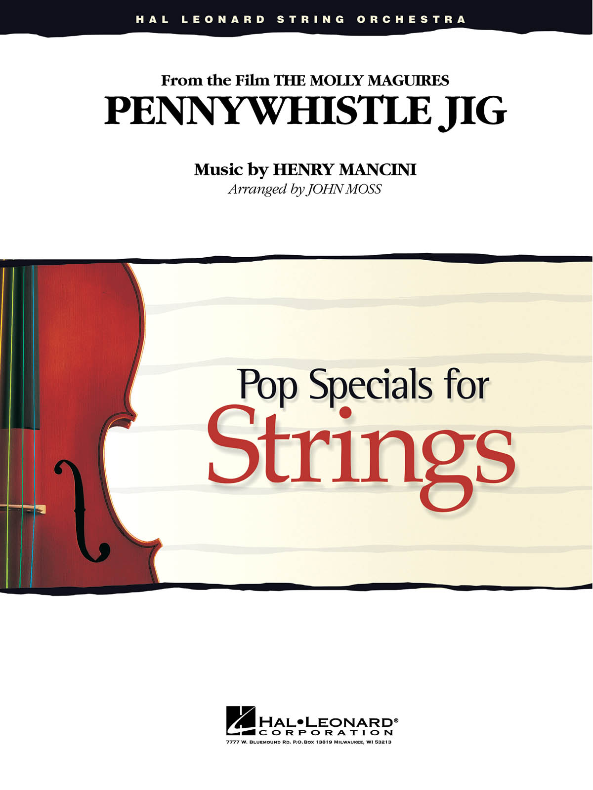 Henry Mancini: Pennywhistle Jig: String Ensemble: Score & Parts