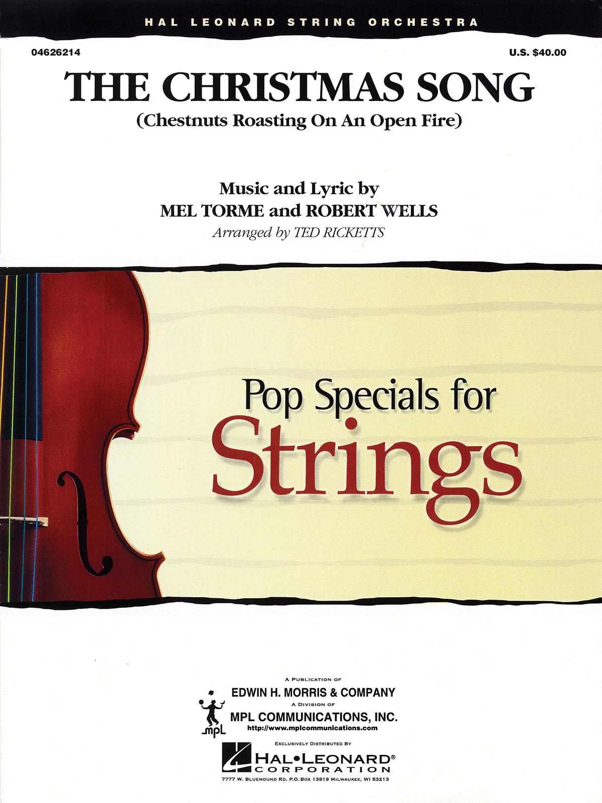Mel Torme Robert Wells: The Christmas Song: String Ensemble: Score