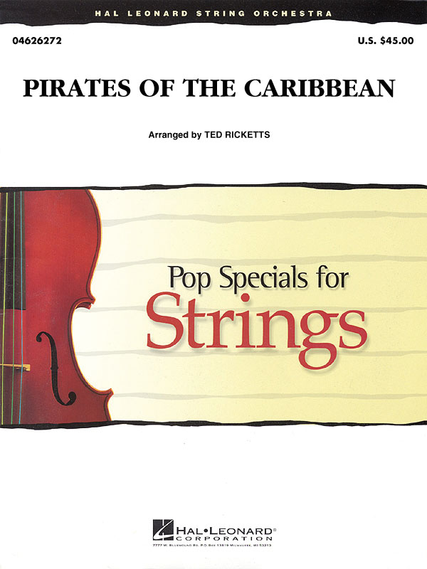 Klaus Badelt: Pirates of the Caribbean (Pop Special String): String Ensemble: