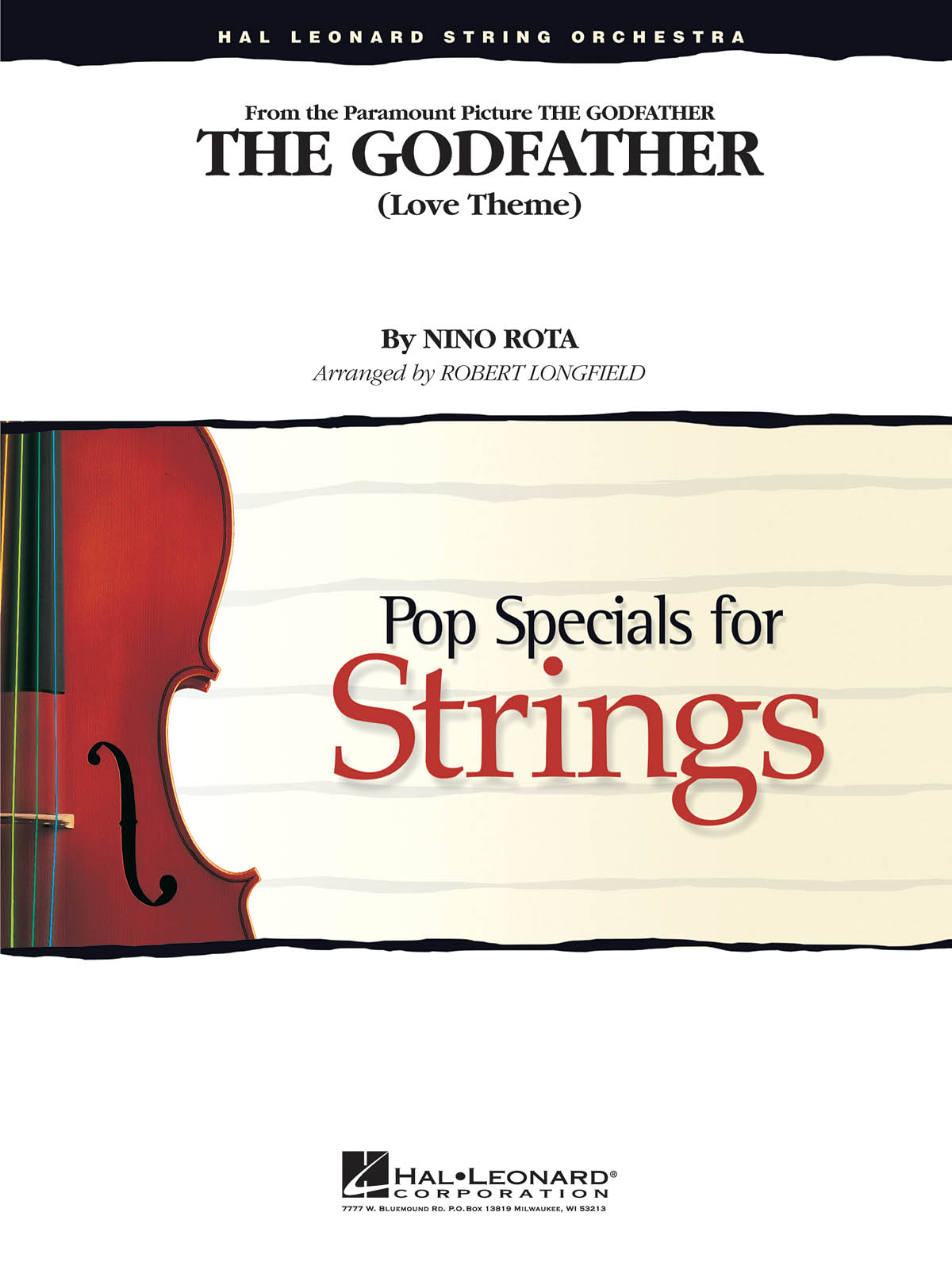 Nino Rota: Theme from the Godfather: String Ensemble: Score