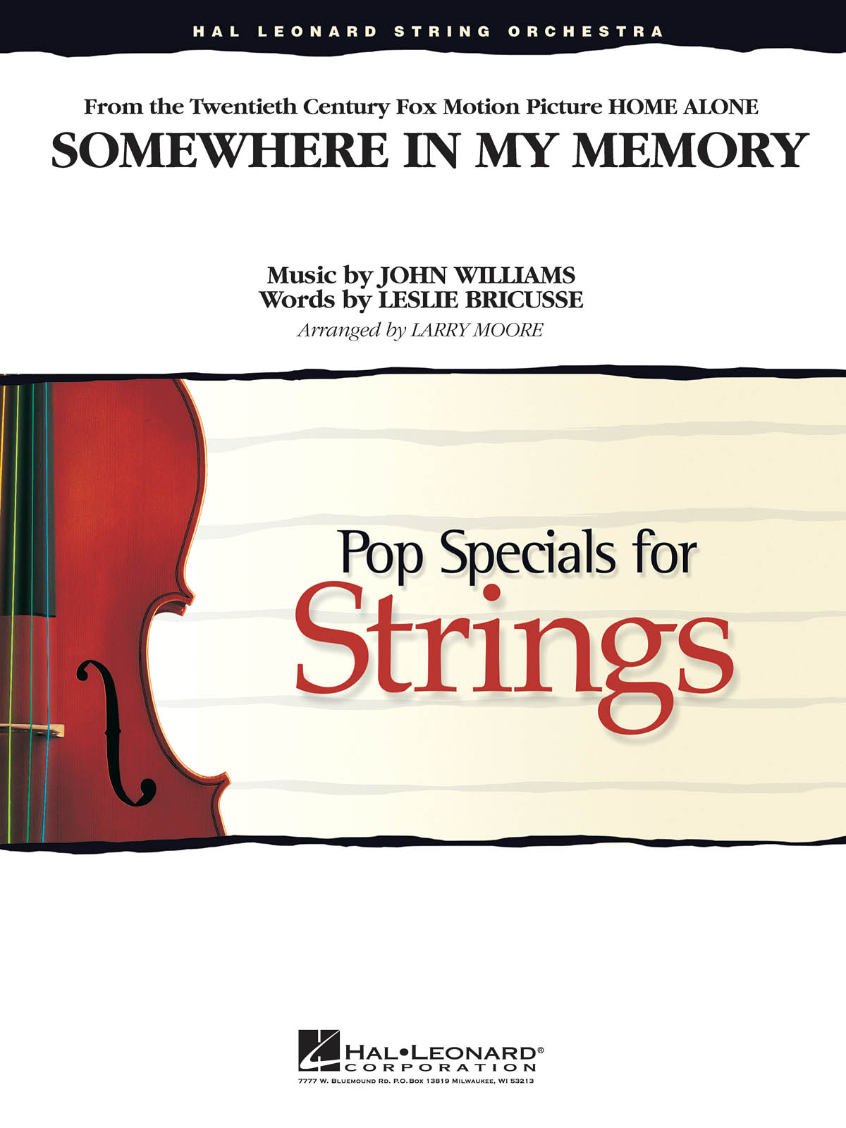 John Williams: Somewhere in My Memory (from Home Alone): String Ensemble: Score