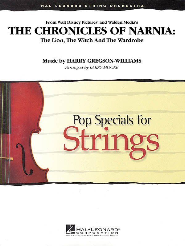 Harry Gregson-Williams: The Chronicles Of Narnia: String Ensemble: Score & Parts