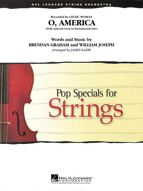 Brendan Graham William Joseph: O  America: String Ensemble: Score and Parts