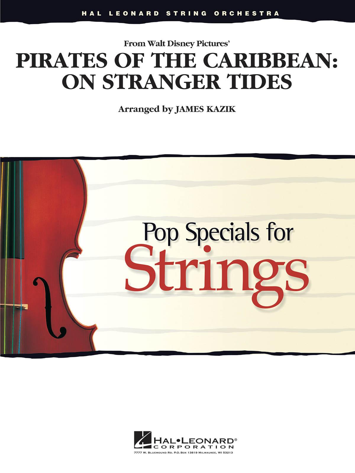 Pirates of the Caribbean: On Stranger Tides: String Ensemble: Score