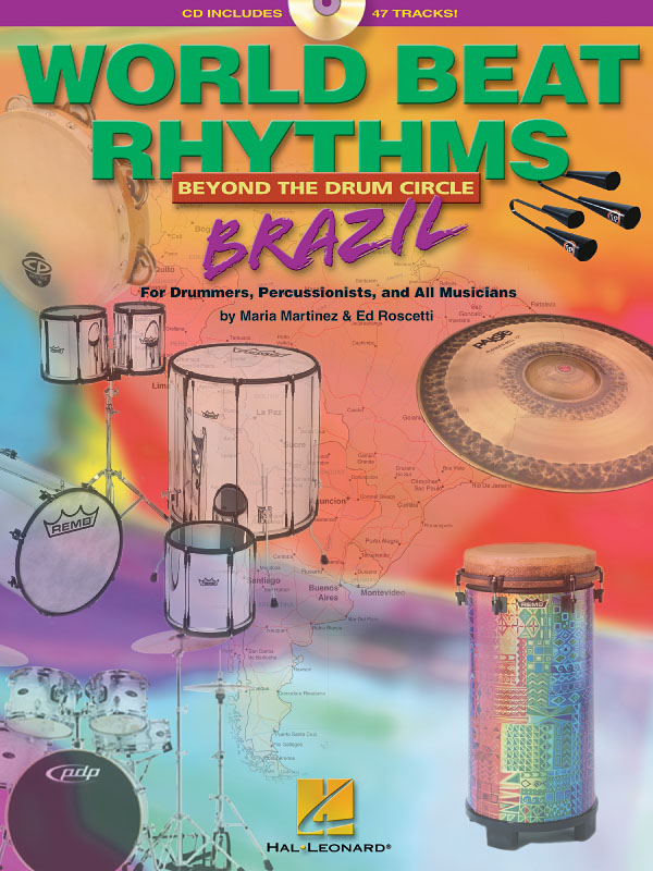 Ed Roscetti Maria Martinez: World Beat Rhythms:Beyond the Drum Circle - Brazil: