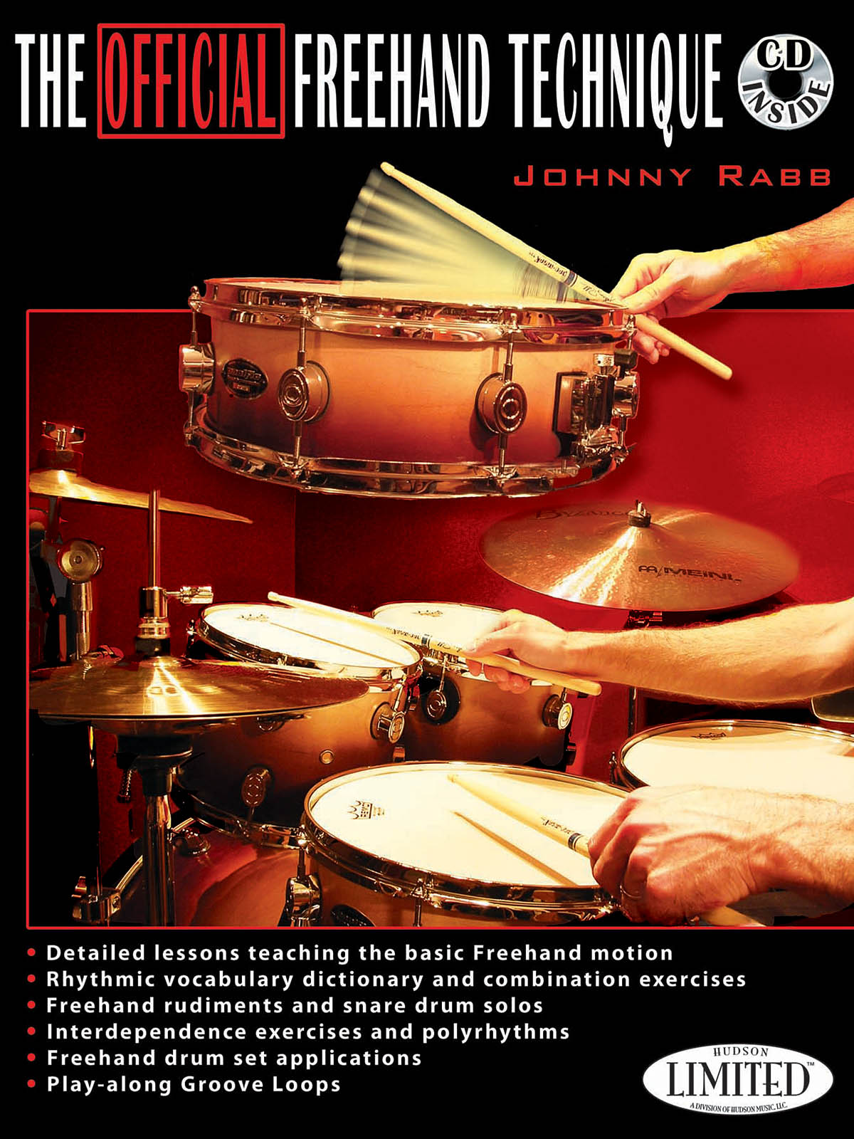 The Official Freehand Technique (Book And CD): Drums: Instrumental Tutor